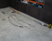 test bench for calibration of rope tension meter